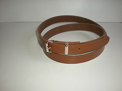 QUALITY LADIES LEATHER BELTS 7 COLOURS AVAILABLE SMALL TO XX LARGE EACH