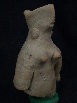 Ancient Teracotta Mother Goddess Indus Valley 600 BC #TR513