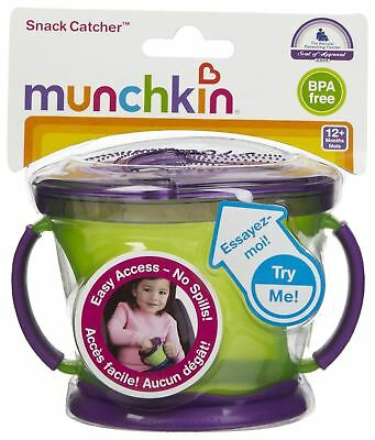 Munchkin Snack Catcher, Baby Food Container - Boys or Girls, Choose Quantity