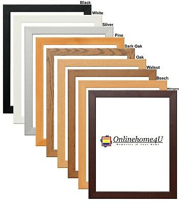 New Photo Frames Picture Frames Panoramic Square Frames Wooden Effect DIY Frames