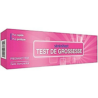 SERENITEST Test de Grossesse Test d autodiagnostique in vitro