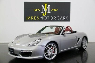 2011 Porsche Boxster S 6-SPEED ($77K MSRP) 2011 Porsche Boxster S, 6-SPEED, $77K MSRP! GT SILVER ON CARRERA RED, 32K MILES
