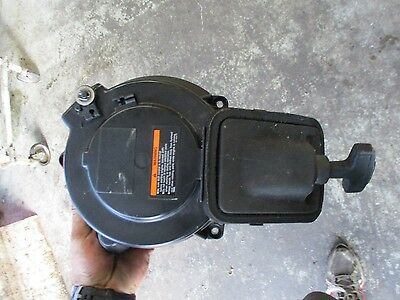 2001 Yamaha 15hp 2-stroke outboard manual rope pull starter assembly