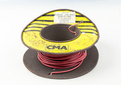 Building Wire Electrical Cable 7/0.50 1.50mm2 PVC Insulated Australian Made