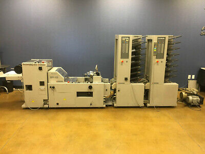 Horizon MC-80A Air-Feed Collator & SPF FC-10II Booklet Maker – Standard SPF-20 F