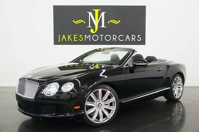 2013 Bentley Continental GT GTC Convertible W12 (1-OWNER) 2013 CONTINENTAL GTC W12, $226K MSRP, 12K MILES, BLACK/ BLACK, PRISTINE 1-OWNER!