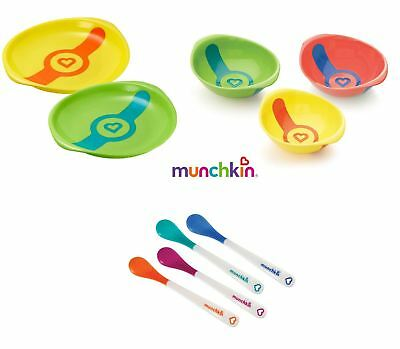 Munchkin White Hot Safety Spoons, Bowls, and Plates - Choose Combo