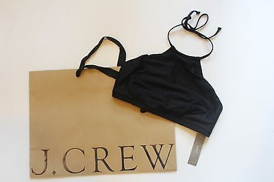449782f3d81cb7 JCrew Ruffle Off-the-Shoulder Bikini Top M Medium 8 10 Belvedere Red G6661.   29.95 Buy It Now 9d 17h. See Details. NWT J Crew Cropped Halter Bikini Top  in ...