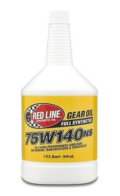 Red Line 57104 75W140NS GL-5 Gear Oil 1 Quart