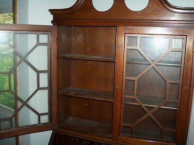 wooden desk writing furniture secretary  ? antique ? chippendale ? PICK-UP ONLY