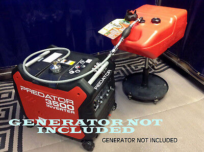 Predator 3500 Watt Inverter Generator 6 Gallon Extended Run Fuel System **new**