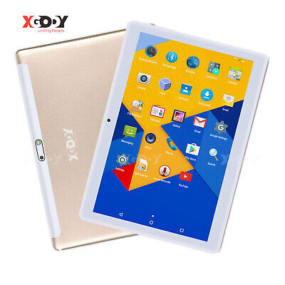 XGODY 10.1'' inch Android 6.0 Quad Core Unlocked Dual SIM 3G WIFI 16GB Tablet PC