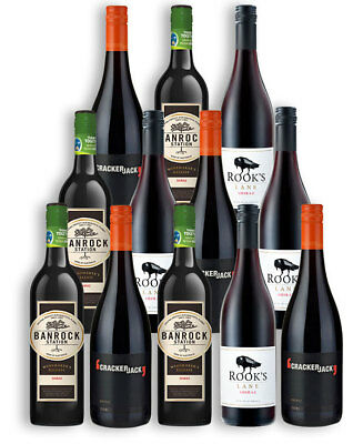 Restock Your Cellar Shiraz Mix (12 Bottles)