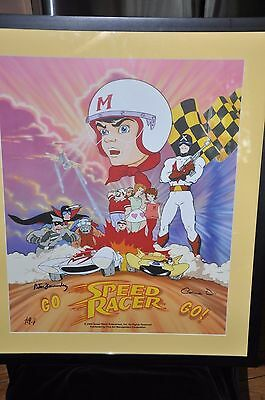 Speed Racer Lithograph signed Limited Edition