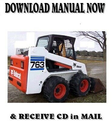 Bobcat 763 763h series skid steer loader service repair manual free bobcat 763 high flow skid steer loader 1999 factory service repair manual cd fandeluxe Gallery