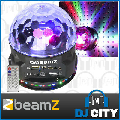 Beamz PLS10 LED Jellyball Party Effect Disco Sound Active Light w/ BT Player