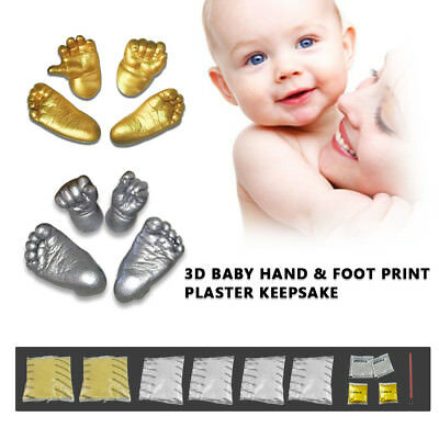 Baby Casting Kit 3D 400g Moulding Powder & 400g Casting Powder Hands & feet
