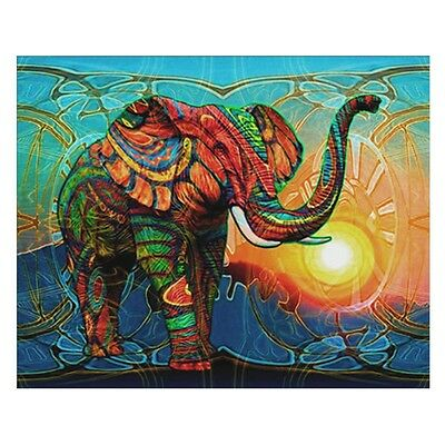 Elephant 5D Diamond Embroidery Painting Cross Stitch DIY Craft Home Decoration