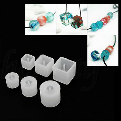 Silicone Beads Jewelry Making Mold Pendant Ornament Resin DIY Craft Mould Tool