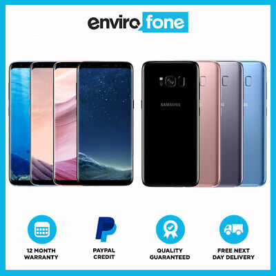 Samsung Galaxy S8 G950F 64GB All Colours Unlocked Refurbished Smartphone