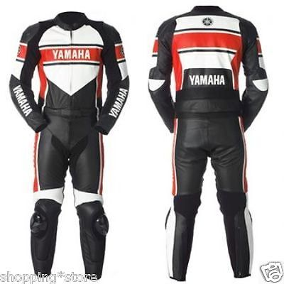 Yamaha Racing Biker Motorcycle Men Suit Motorbike Moto Gp Leather Jacket Trouser