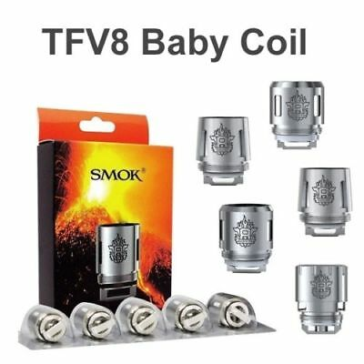 Authentic SMOK TFV8 Baby Coils V8-Q2/M2/X4/T8 for TFV8 Baby/ Big Baby Beast Tank