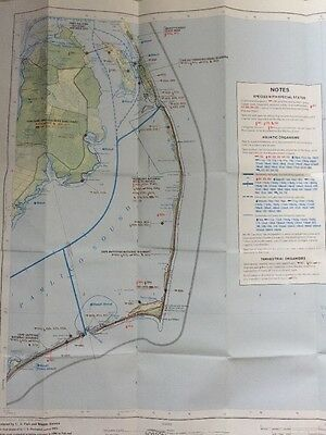 1980 US Fish & Wildlife Manteo NC Atlantic COAST ECOLOGICAL INVENTORY Map