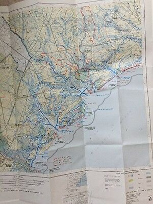1980 US Fish & Wildlife Savannah GA SC Atlantic COAST ECOLOGICAL INVENTORY Map