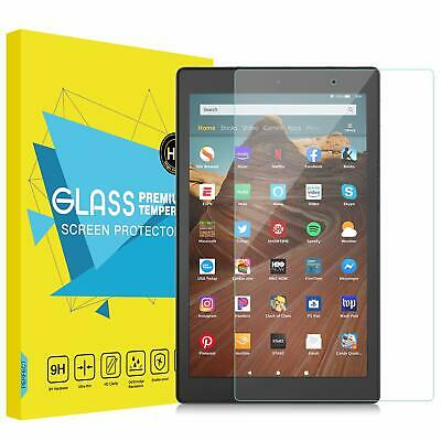 Amazon Kindle Fire HD8 (2018), HD10, HD7 Premium Tempered Glass Screen Protector