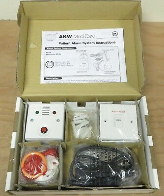 AKW MediCare Patient  Pull Cord Alarm System with LED indicator box