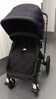 Bugaboo Cameleon 2 Denim Red Limited Edition Pushchair Carrycot Fantastic Cond.