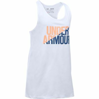 Under Armour Niños Workmark Entrenar Tank Top Júnior Chicas Camiseta Ropa
