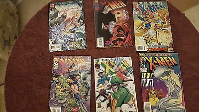 Marvel Comics The Uncanny X-Men lot of 6
