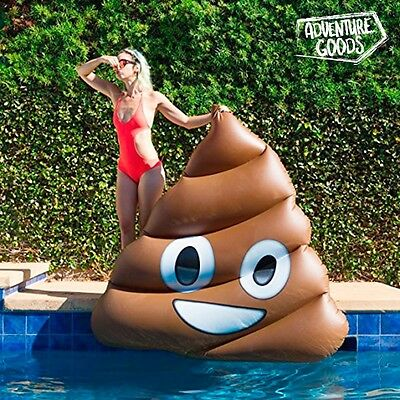 Materassino Gonfiabile Poo Emotion Adventure Goods