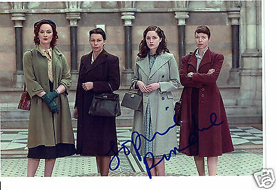 Sophie Rundle Actress Peaky Blinders Bletchley Circle Hand signed Photograph 7x5