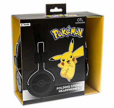POKEMON Headphones - Pokeball / Pokemon Trainer Design suitable for ages 8+