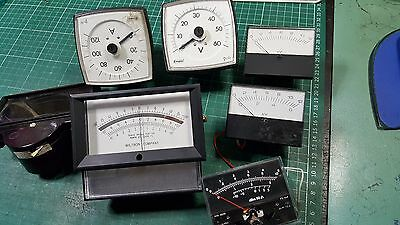 Analog Panel Meter Joblot VOLTS METER , dB METER AND OTHERS