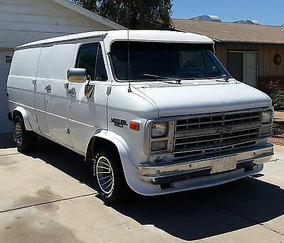 1980 Chevrolet G20 Van No Rust - Ever! 1991 Custom Chevy Van 350 Automatic NO RUST