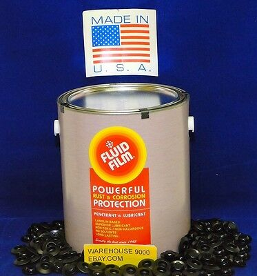1~ Gallon of FLUID FILM UNDERCOATING Rust Prevention NAS With 100 rust plugs