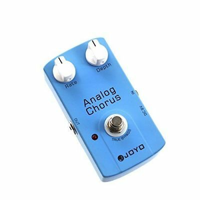 JOYO JF-37 ANALOG CHORUS Electric Guitar Effect Pedal with True Bypass F8O8 F/S