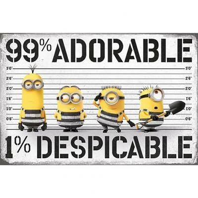Despicable Me 3 Poster Adorable 257