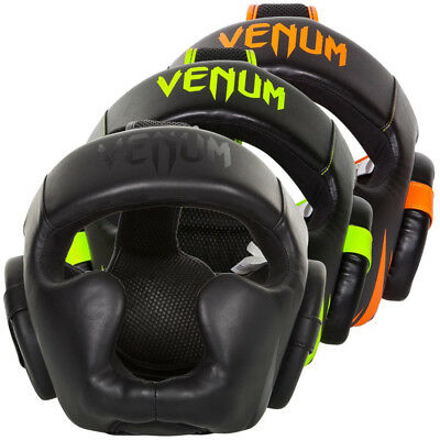 Venum Challenger 2.0 Head Guard Leather Boxing MMA Kickboxing Muay Thai Sparring