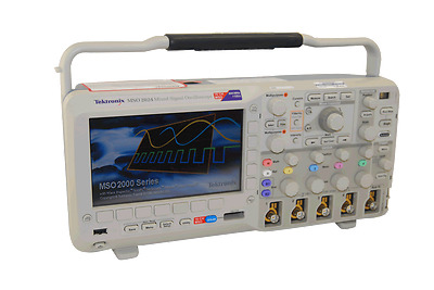 Tektronix MSO2024 200 MHz, 1 GS/s,4+16 channel MSO With DPO2COMP, EMBD, AUTO