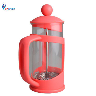 350ml Convenient French Press Coffee Pot Maker for Handmade Coffee Glass&Plastic