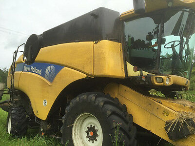 Mähdrescher New Holland CX 760