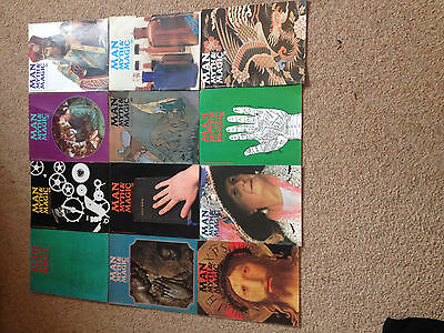 Man, Myth & Magic magazines joblot. X 12 Paranormal Occult 70's books