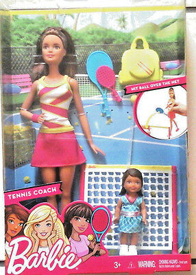Barbie Careers Tennis Coach Playset - Brown  dvg15