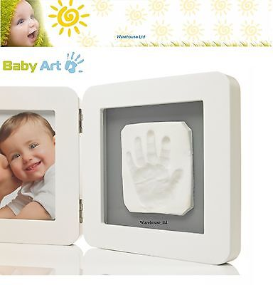 Baby Art My Baby Touch Print White Frame Baby Casting Kit