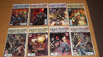 Fear Itself: The Fearless #'s 1,2,3,5, 6, 7, 8, 10 Marvel Comics 2011 Series