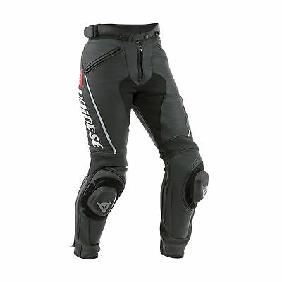 NEW Dainese Delta Pro C2 Leather Pants SIZE EU 50 WOMENS Black
